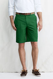 "Men's 11"" Plain Front Original Chino Shorts"