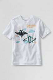 Boys' Short Sleeve Manta Ray Graphic T-shirt
