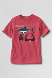 Boys' Short Sleeve Shark Graphic T-shirt