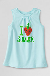 Girls' Love Summer Scented Twisted Graphic Vest Top