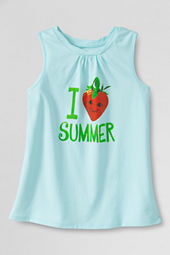 Girls' Scented Love Summer Graphic Twisted Tank Top