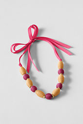 Girls' Wrapped Bead Necklace