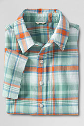 Boys' Short Sleeve Madras Shirt