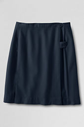 School Uniform Girls' Solid Kilt (Below The Knee)