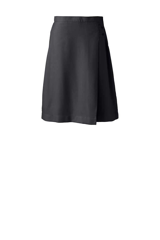 School Uniform Women's Tall Solid A-line Skirt Below the Knee, Front