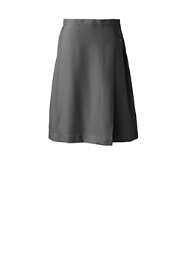 School Uniform Women's Solid A-line Skirt Below the Knee