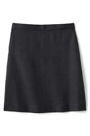 Women's Tall Solid A-line Skirt Below the Knee