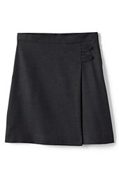 School Uniform Girls' Solid A-line Skirt (Below The Knee)
