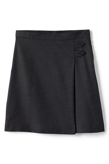 Solid A-line Skirt Below the Knee from Lands' End