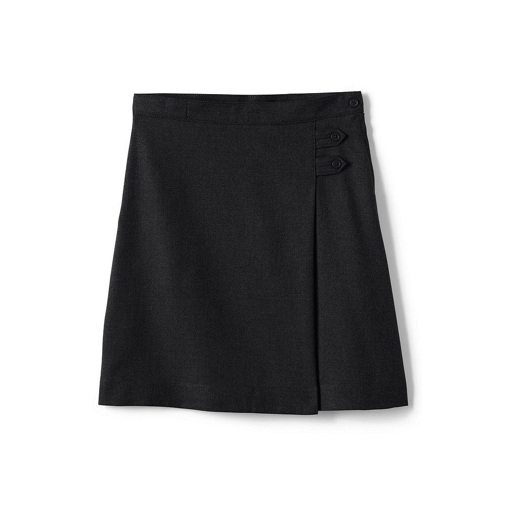 Lands' End School Uniform Little Girls' Slim Solid A-line Skirt (Below The Knee) at Sears.com