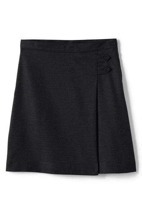 Women's Tall Solid A-line Skirt Below the Knee