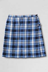 School Uniform Girls' Plaid Kilt (Below The Knee)