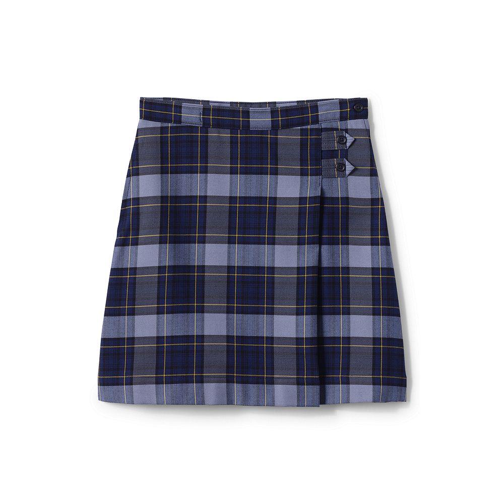 Lands' End Little Girls' Slim Plaid A-line Skirt (Below The Knee)