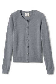 School Uniform Women's Performance Fine Gauge Cardigan