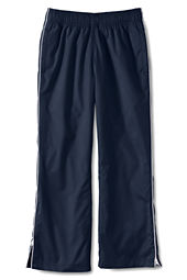 School Uniform Girls' Piped Athletic Pants