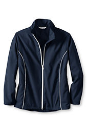 School Uniform Girls' Piped Athletic Jacket