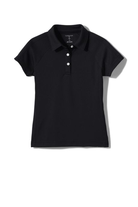 Women's Short Sleeve Textured Active Polo