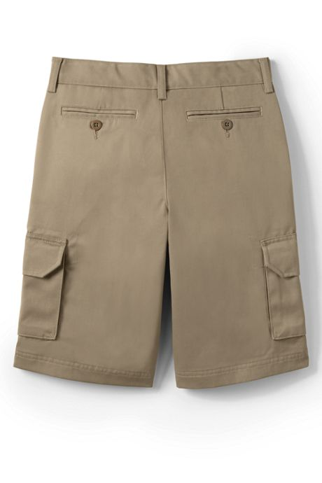 School Uniform Boys Stain Resistant Cargo Chino Shorts