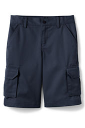 School Uniform Boys' Stain & Wrinkle Resistant Cargo Shorts