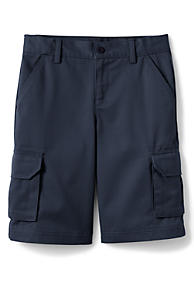 3b5029fccd8 School Uniform Boys Stain Resistant Cargo Chino Shorts
