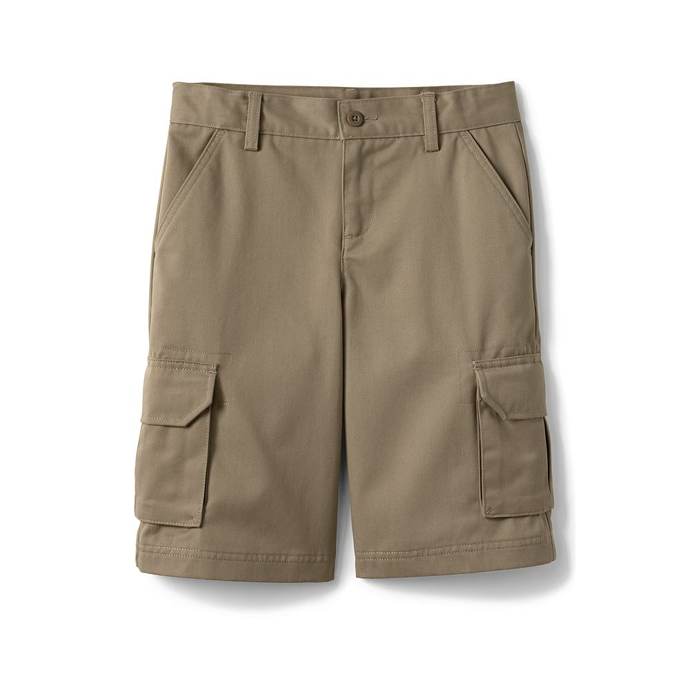 Lands' End School Uniform Boys' Stain & Wrinkle Resistant Cargo Shorts at Sears.com