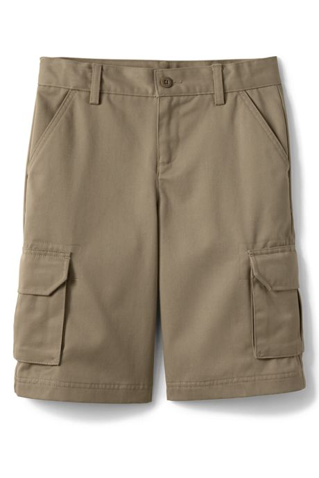 Little Boys Stain Resistant Cargo Chino Shorts
