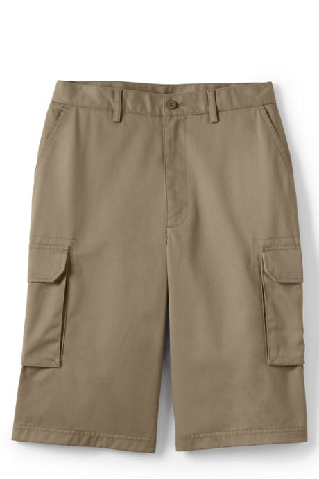 School Uniform Men's Stain Resistant Cargo Chino Shorts