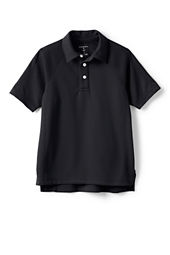 School Uniform Boys' Performance Textured Polo