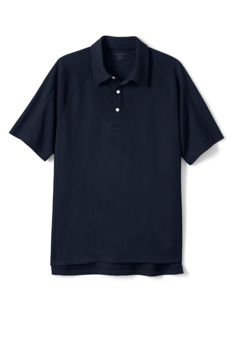 Men's Short Sleeve Textured Active Polo