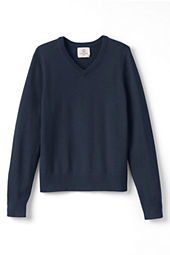 Boys' Performance Fine Gauge V-neck Sweater
