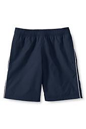 School Uniform Boys' Piped Athletic Shorts