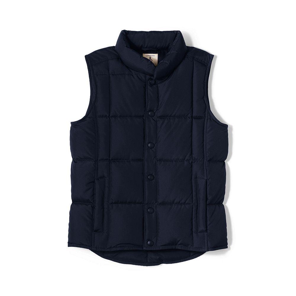 Lands' End School Uniform Little Boys' Down Vest at Sears.com