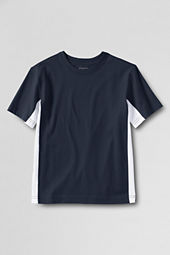 School Uniform Boys' Short Sleeve Colorblock Essential T-shirt