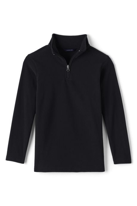 Boys Lightweight Fleece Quarter Zip Pullover