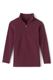School Uniform Men's Lightweight Fleece Quarter Zip Pullover