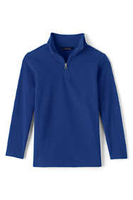 School Uniform Boys Lightweight Fleece Quarter Zip Pullover