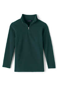School Uniform Men's Lightweight Fleece Half Zip
