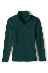 Girls Lightweight Fleece Half Zip