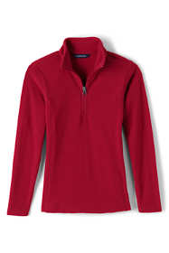 Little Girls Lightweight Fleece Half Zip