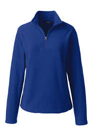 School Uniform Women's Lightweight Fleece Quarter Zip Pullover