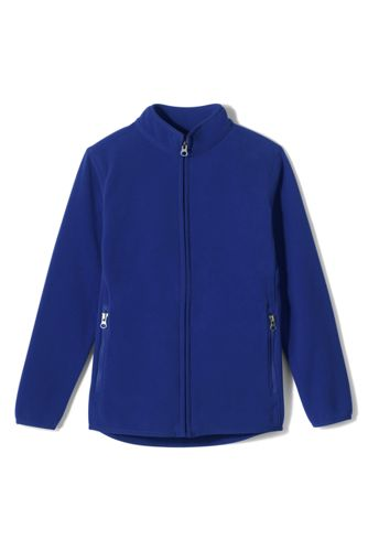 School Uniform Fleece Jacket from Lands' End