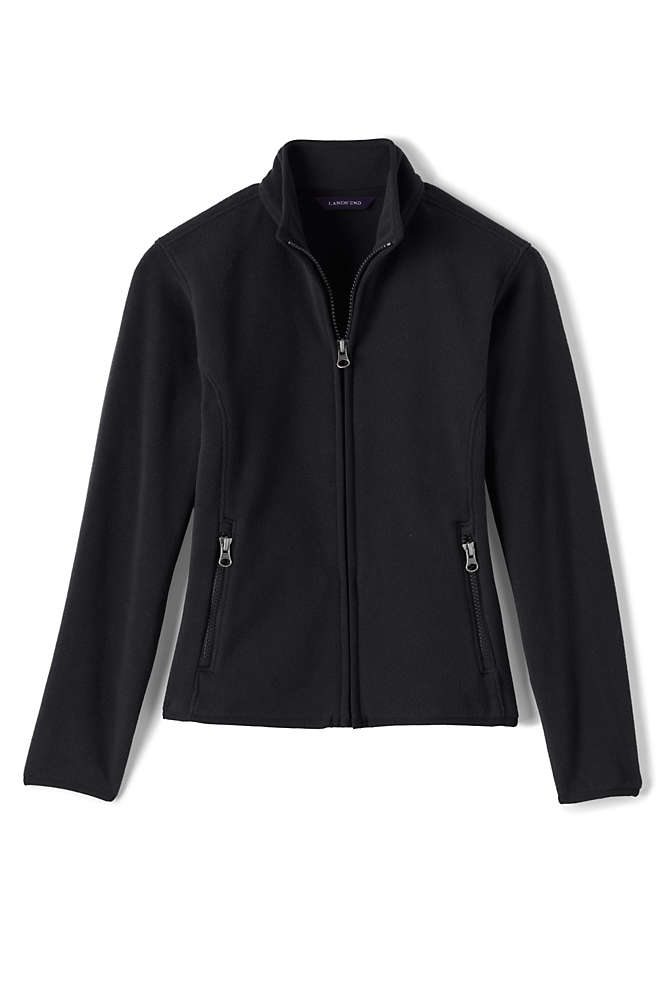 School Uniform Girls Fleece Jacket, Front