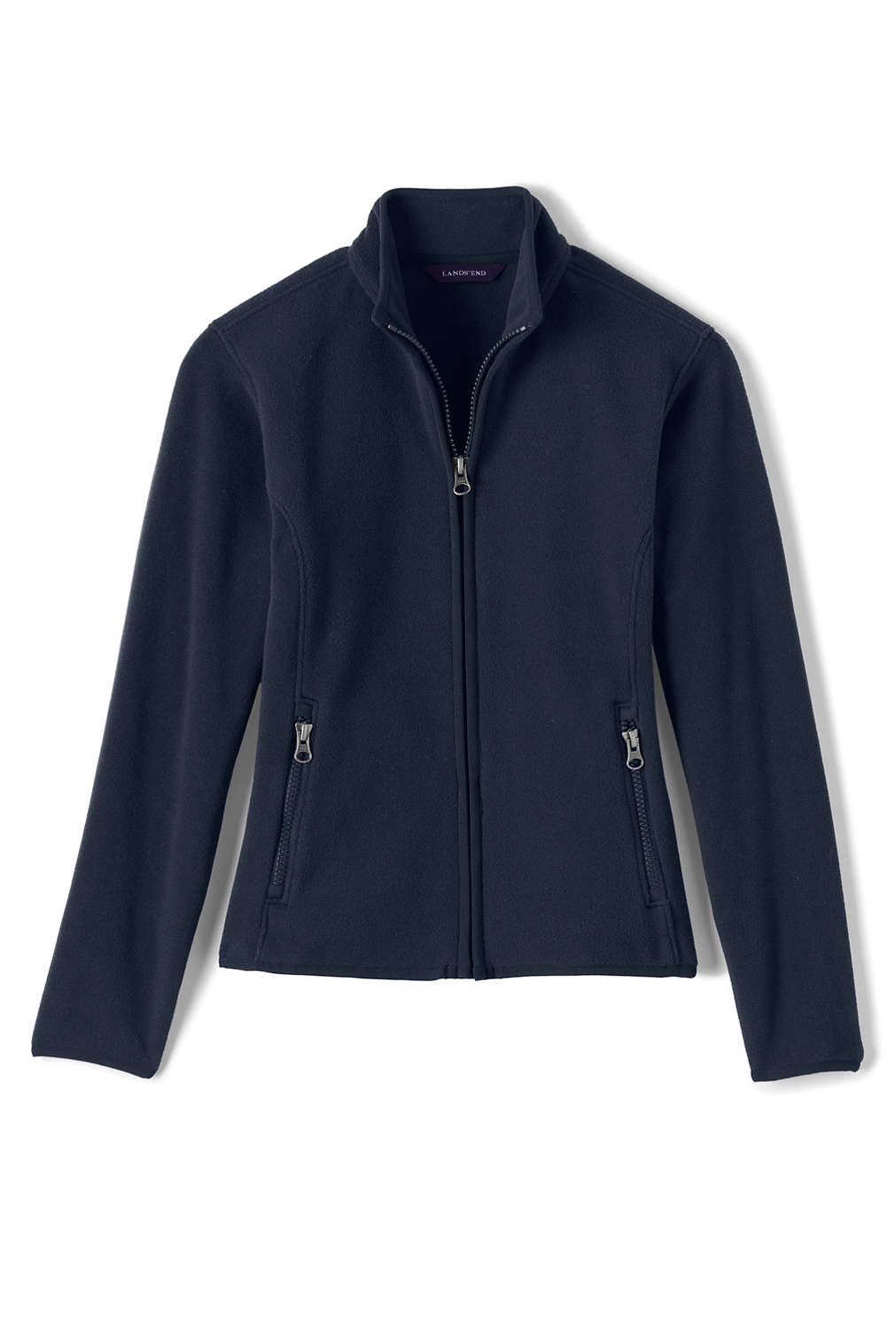 f1a6e3f63 School Uniform Girls Fleece Jacket from Lands  End