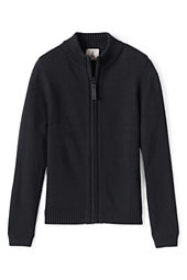 School Uniform Girls' Zip-front Drifter Cardigan
