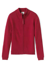 Little Girls Zip-front Drifter Cardigan