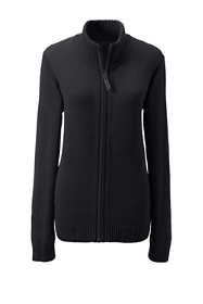 School Uniform Women's Zip-front Drifter Cardigan