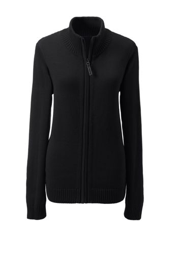 Women's Zip-front Drifter Cardigan from Lands' End