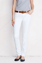 Women's Fit 1 Slim Leg White Jeans