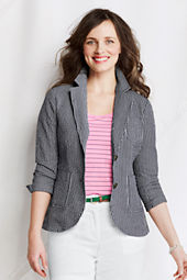Women's Seersucker Jacket