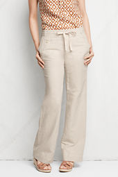 Women's Linen Cotton Wide Leg Pants